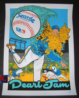 Ames Bros Pearl Jam Seattle Poster 2018 Home Shows