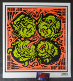 Ames Bros Pearl Jam Seattle Poster Artist Edition 2003