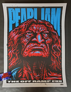 Ames Bros Pearl Jam Seattle Poster Off Ramp 2020