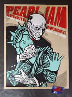 Ames Bros Pearl Jam Uniondale Poster 2003