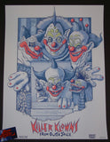 Andrew Swainson Killer Klowns From Outer Space Movie Poster Art 2016