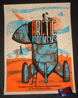 Andrew Vastagh Arctic Monkeys Poster Austin Artist Edition 2018 ACL