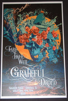 Android Jones Grateful Dead Chicago Poster 2015 Fare Thee Well Tour
