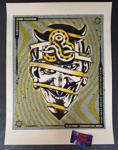 Andy Vastagh Tool Nashville Poster VIP 2020