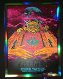 AngryBlue Roger Waters Poster Day Glow Foil Variant 2017 Artist Edition