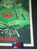 AngryBlue Roger Waters Poster North America Tour Emerald City Variant Artist Edition 2017