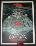 AngryBlue Roger Waters North America Tour Poster S/N Artist Edition