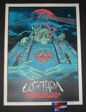 AngryBlue Roger Waters Poster North America Tour Blue Sky Variant Artist Edition 2017 S/N