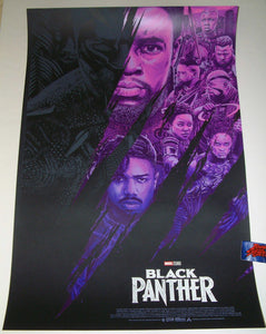 Anthony Petrie Black Panther Movie Poster 2018