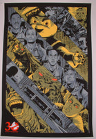 Anthony Petrie Ghostbusters Ghostbusted Movie Poster 2014 Artist Edition