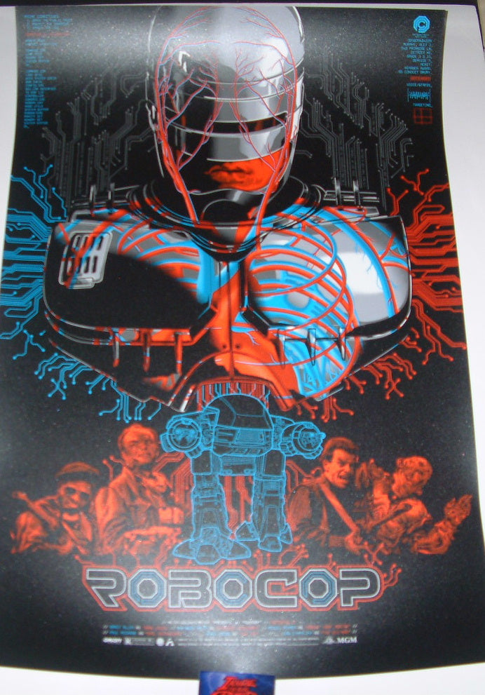Anthony Petrie RoboCop Movie Poster 2016