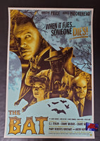 Anthony Petrie The Bat Movie Poster Gold Variant 2019