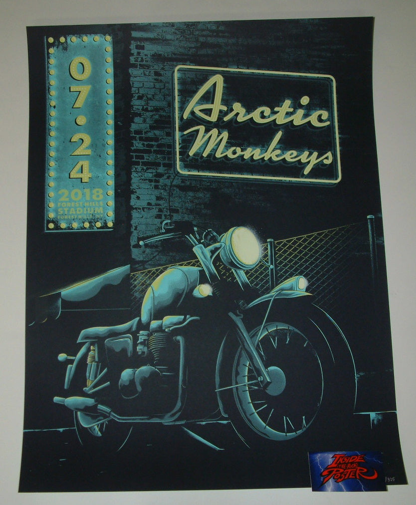 Arno Kiss Arctic Monkeys Forest Hills Poster Artist Edition 2018
