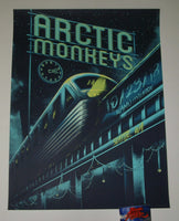 Arno Kiss Arctic Monkeys Seattle Poster Artist Edition 2018