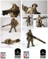 Ashley Wood ThreeA WWR Punter Bot Sniper BBICN Exclusive Figure 1/6 3A