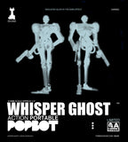 Ashley Wood Action Portable Whisper Ghost Figure Kitty Glow in the Dark 1/12 3A Chase Variant