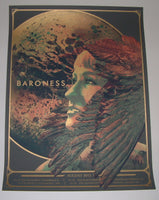 Wes Winship Baroness Poster VII 2013 Tour Artist Edition S/N