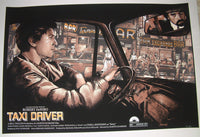 Barret Chapman Taxi Driver Movie Poster Variant 2015 Robert DeNiro