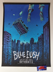 Barry Blankenship Billie Eilish Austin City Limits Poster Artist Edition 2019