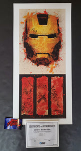 Bask Iron Man 3 Movie Art Print 2013