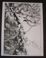 Bernie Wrightson The Confrontation Frankenstein Art Print 2012 Artist Edition