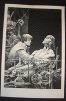 Bernie Wrightson Features as Beautiful Frankenstein Art Print 2013 Artist Edition
