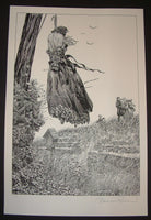 Bernie Wrightson Perished on the Scaffold Frankenstein Art Print 2013 Artist Edition