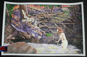 Bernie Wrightson You're New Here Aren't You Art Print 2014 Artist Edition