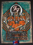 Brad Klausen Foo Fighters Poster Boston Fenway Park 2015 Artist Edition
