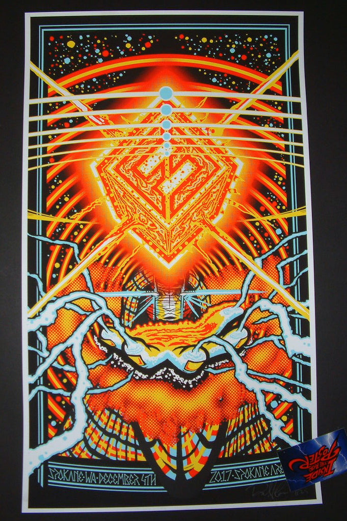 Brad Klausen Foo Fighters Poster Spokane 2017 Artist Edition