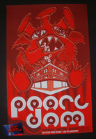 Brad Klausen Pearl Jam Easy Street Records Seattle Poster S/N Artist Edition