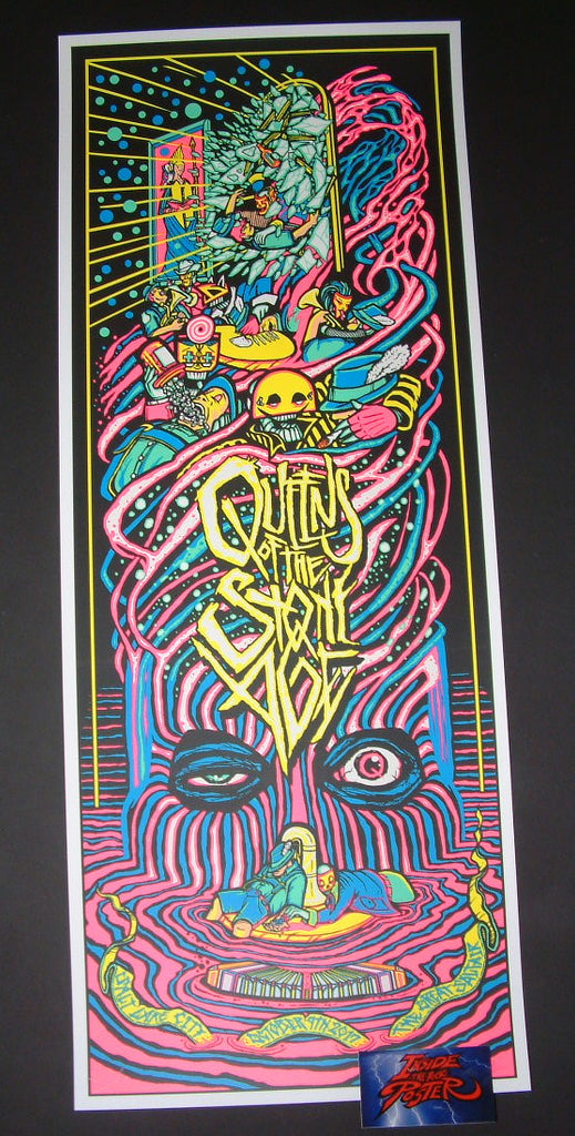 Brad Klausen Queens of the Stone Age Poster Salt Lake City 2017 Artist Edition