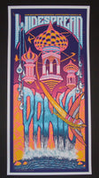 Brad Klausen Widespread Panic Poster Lincoln 2014 Artist Edition
