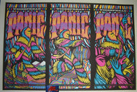 Brad Klausen Widespread Panic Milwaukee 3 Poster Uncut Set 2016 Artist Edition