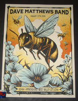 Brandon Heart Dave Matthews Band West Valley City Poster Artist Edition 2019