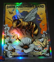 Brandon Heart Dave Matthews Band West Valley Poster Foil Artist Edition 2019
