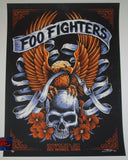 Brandon Heart Foo Fighters Poster Des Moines 2017 Artist Edition