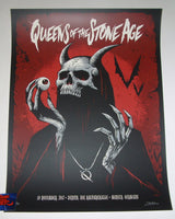 Brandon Heart Queens of the Stone Age Poster Munich Germany 2017 Artist Edition