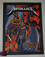 Brent Schoonover Metallica Poster Minneapolis 2018