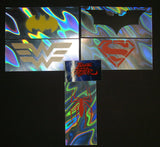 Chef Super Hero Batman Superman Spider-Man Wonder Woman Lava Foilz Art 2017