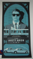 Charles Crisler Avett Brothers Poster Chicago 2017 Artist Edition Night 2