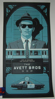 Charles Crisler Avett Brothers Poster Chicago 2017 Artist Edition Night 3