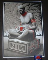 Charles Degeyter Nine Inch Nails Poster Amsterdam 2018 Artist Edition