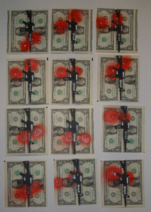 Chef Blood Money Hand Painted Multiples Art HPM 2014