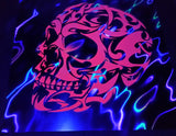 Chef Lava Skull Foilz Hand Painted Multiples Art HPM 2018