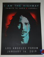 Chris Cornell I am the Highway Tribute Poster Los Angeles 2019