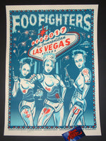 Chris Hopewell Foo Fighters Poster Las Vegas 2017 NYE Variant Artist Edition