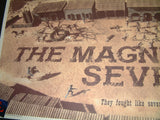 Chris Skinner The Magnificent Seven Movie Poster 2016 Steve McQueen
