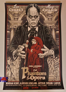 Chris Weston The Phantom of the Opera Movie Poster Variant 2020