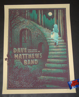 Half Hazard Press Dave Matthews Band Manchester Poster Artist Edition 2018